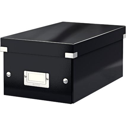 LEITZ DVD-Ablagebox Click & Store WOW, schwarz