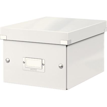 LEITZ Ablagebox Click & Store WOW, DIN A5, weiß