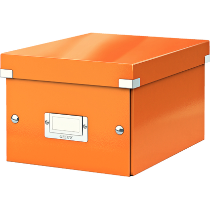 LEITZ Ablagebox Click & Store WOW, DIN A5, orange