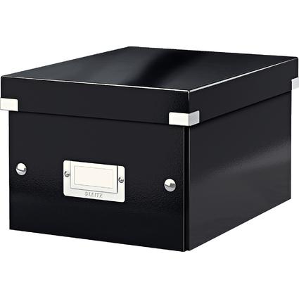 LEITZ Ablagebox Click & Store WOW, DIN A5, schwarz