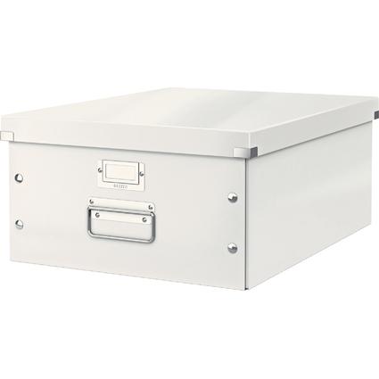 LEITZ Ablagebox Click & Store WOW, DIN A3, weiß