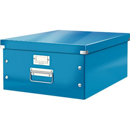 LEITZ Ablagebox Click & Store WOW, DIN A3, blau