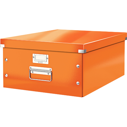LEITZ Ablagebox Click & Store WOW, DIN A3, orange