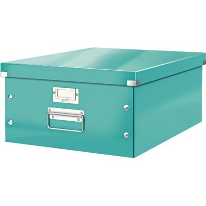 LEITZ Ablagebox Click & Store WOW, DIN A3, eisblau