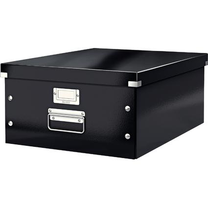 LEITZ Ablagebox Click & Store WOW, DIN A3, schwarz