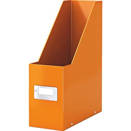 LEITZ Stehsammler Click & Store WOW, A4, Hartpappe, orange