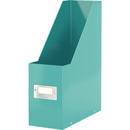 LEITZ Stehsammler Click & Store WOW, A4, Hartpappe, eisblau