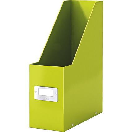 LEITZ Stehsammler Click & Store WOW, A4, Hartpappe, grün