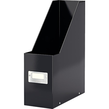 LEITZ Stehsammler Click & Store WOW A4, Hartpappe, schwarz