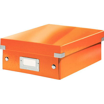 LEITZ Organisationsbox Click & Store WOW, klein, orange