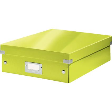 LEITZ Organisationsbox Click & Store WOW, groß, grün