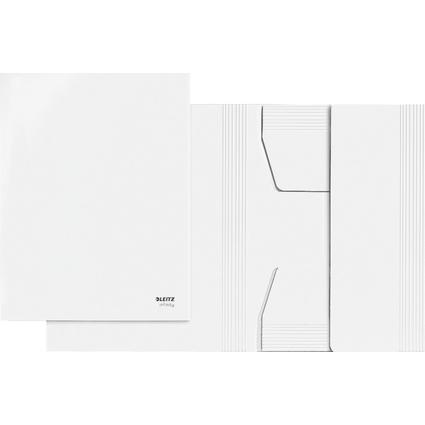 LEITZ Jurismappe Infinity, DIN A4, säurefreier Karton, weiß