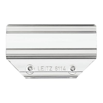 LEITZ Vollsichtreiter, PVC, (B)60 x (H)27 mm, tranparent