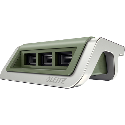 LEITZ Power-Ladegerät Style für Mobilgeräte, seladon-grün