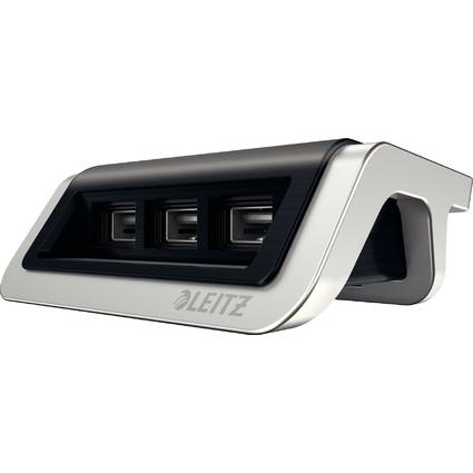 LEITZ Power-Ladegerät Style für Mobilgeräte, satin-schwarz