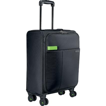 LEITZ Handgepäck-Trolley Smart Traveller Complete, 4 Rollen