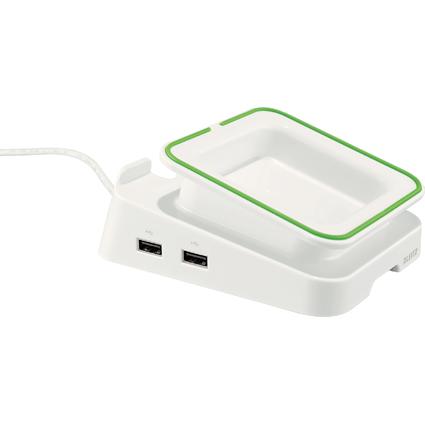 LEITZ Tablet-PC-Tischständer Complete, Ladefunktion, weiß