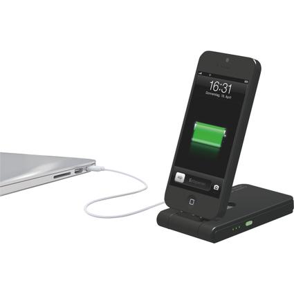 LEITZ Ladegerät 3-in-1 Complete, für iPhone 5, schwarz