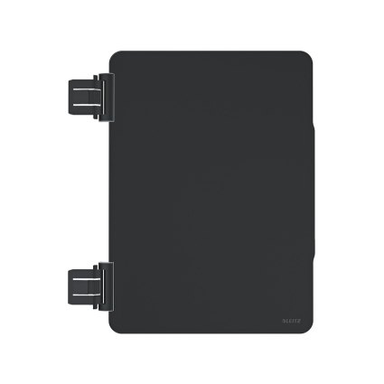 LEITZ Frontklappe Complete für iPad-Schutzcover, schwarz