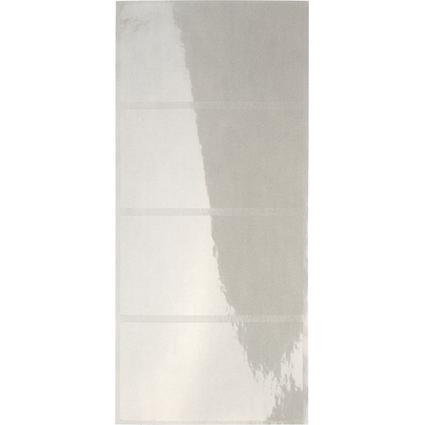 LEITZ Schutzfolienschildchen auf Streifen, transparent