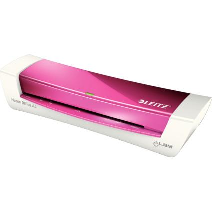 LEITZ Laminiergerät iLAM Home Office A4, bis DIN A4, pink