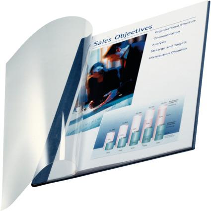 LEITZ Buchbindemappe impressBind, A4, 3,5 mm, blau, Soft