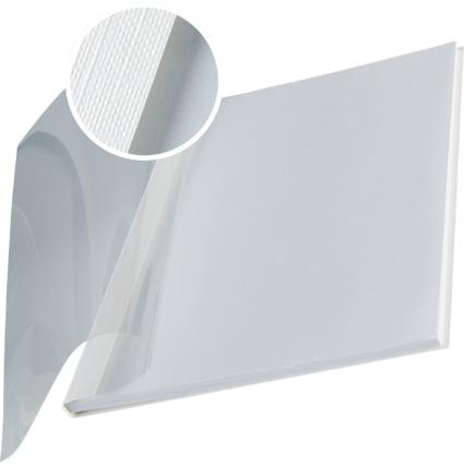 LEITZ Buchbindemappe impressBind, A4, 7 mm, weiß, Soft Cover