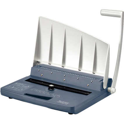 LEITZ Drahtbindegerät wireBIND 300, silber/blau