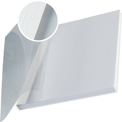 LEITZ Buchbindemappe impressBind, A4, 10,5 mm, weiß, Soft