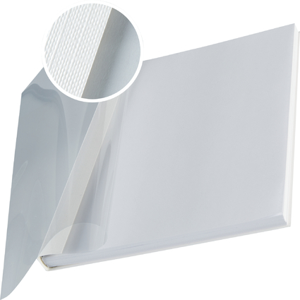 LEITZ Buchbindemappe impressBind, A4, 14 mm, weiß, Soft