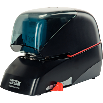 Rapid Elektro-Heftgerät Supreme 5080e, schwarz
