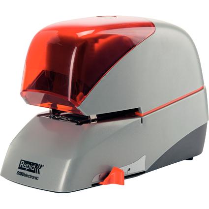 Rapid Elektro-Heftgerät Supreme 5080e, silber/orange