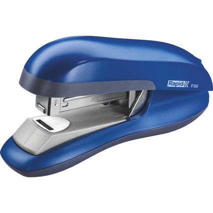 Rapid Flachheftgerät Fashion F30, blau