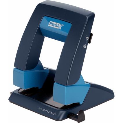 Rapid Locher Supreme Press Less SP30, blau/anthrazit