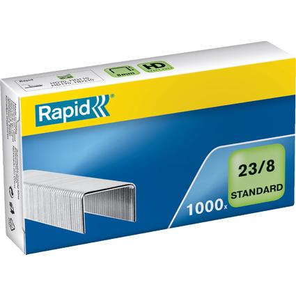 Rapid Heftklammern Standard 23/8, galvanisiert