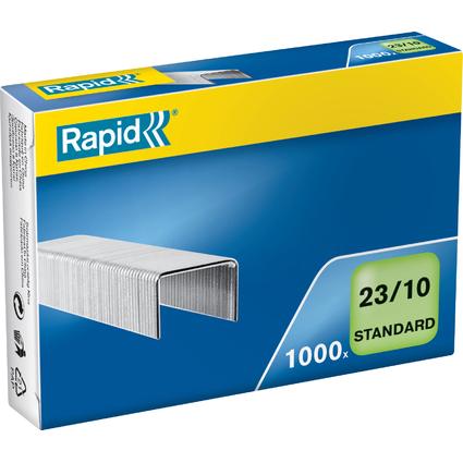 Rapid Heftklammern Standard 23/10, galvanisiert