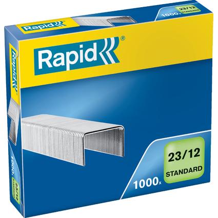 Rapid Heftklammern Standard 23/12, galvanisiert