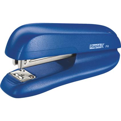Rapid Heftgerät F6, Heftleistung: 20 Blatt, blau
