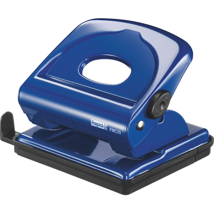 Rapid Locher FMC25, Stanzleistung: 25 Blatt, blau