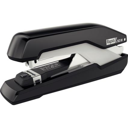 Rapid Flachheftgerät Omnipress SO30, schwarz/grau