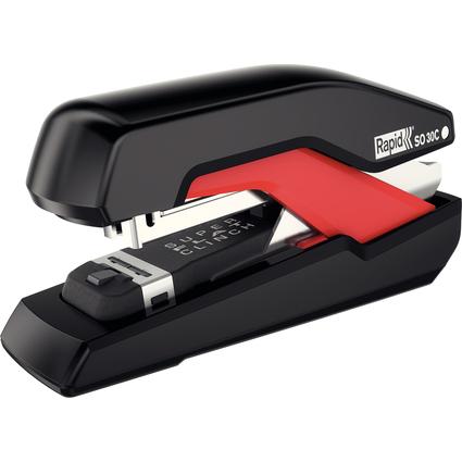 Rapid Flachheftgerät Omnipress SO30C, schwarz/rot