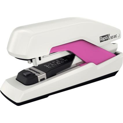Rapid Flachheftgerät Omnipress SO30C, weiß/pink
