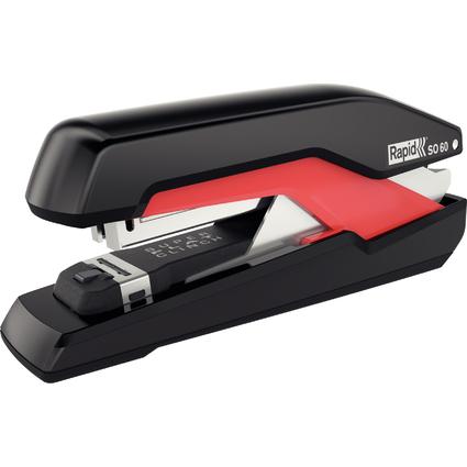 Rapid Flachheftgerät Omnipress SO60, schwarz/rot