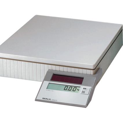 MAULparcel S Solar Paketwaage, Tragkraft: 50 kg, Farbe: grau