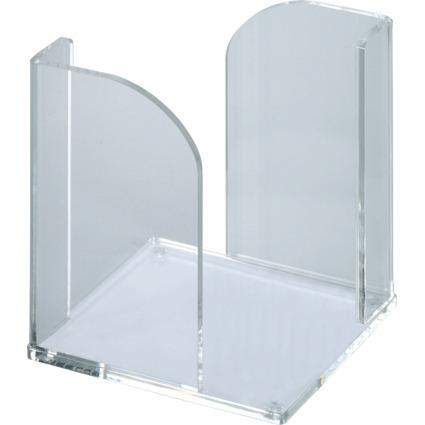 MAUL Zettelbox Acryl, glasklar, Stärke: 4 mm, ohne Zettel