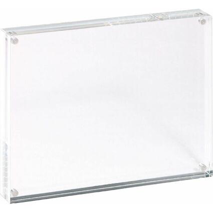 MAUL Bilderrahmen, (B)178 x (T)30 x (H)127 mm, glasklar