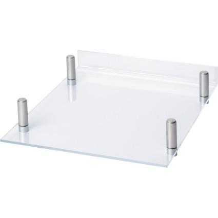MAUL Briefablage MAULacro, Acryl/Aluminium, glasklar
