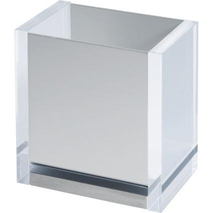 MAUL Stifteköcher MAULacro, Acryl/Aluminium, glasklar