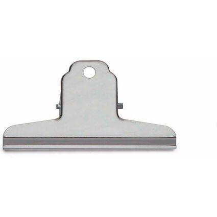 MAUL Briefklemmer aus Stahl, Farbe: nickel, Breite: 100 mm