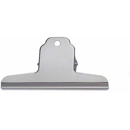 MAUL Briefklemmer aus Stahl, Farbe: nickel, Breite: 120 mm